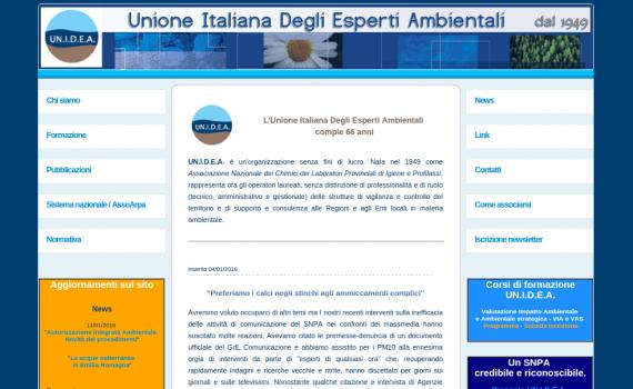 UNIDEA - UNione Italiana Esperti Ambientali